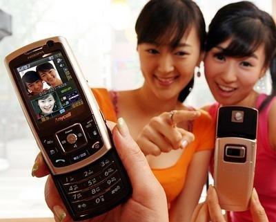 SPH-W2100, otro HSDPA desde Corea