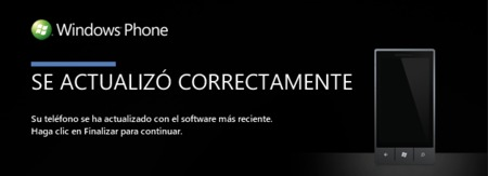 Windows Phone 7 Update fin