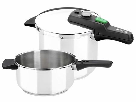 El set de dos ollas a presión Monix Quik de 4 y 6 litros puede ser nuestro por 55,99 euros con envío gratis gracias a eBay