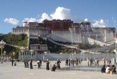 Masificación en el Palacio Potala del Tibet
