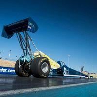 ¿0 a 200 km/h en 0,8 segundos? Eso busca este dragster eléctrico de Top EV Racing