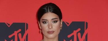 Dulceida apuesta por el blanco y los volantes y acierta en la alfombra roja de los  MTV EMA 2019