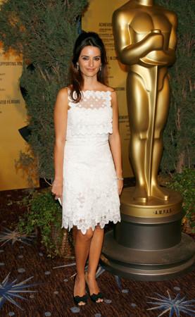 Penélope Cruz en el almuerzo de los nominados a los Oscar