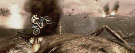 Una presa a punto de derrumbarse, la batalla de Normandía... Los nuevos niveles de 'Trials Evolution' en vídeo