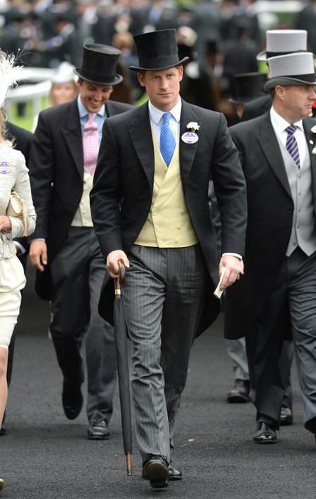 Principe Harry en Ascot