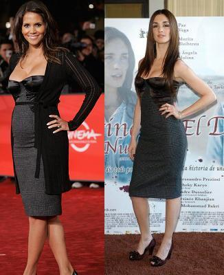 Vestido de Dolce & Gabbana: ¿Paz Vega o Halle Berry?