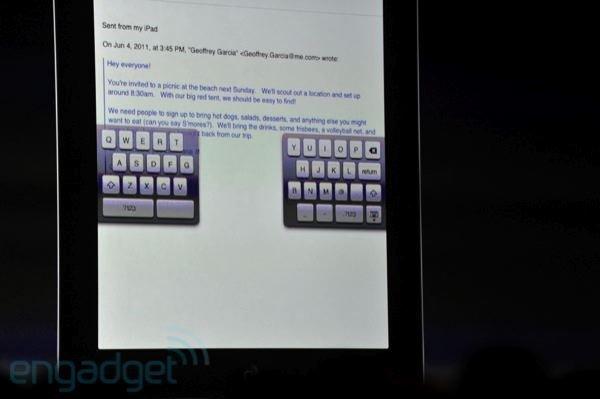 Ya es posible escribir con nuestros pulgares cómodamente en el iPad