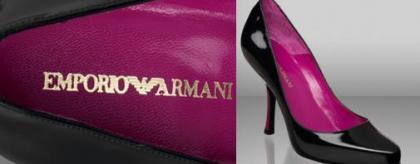 Emporio Armani, nuevo modelo de zapatería