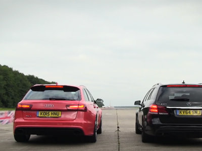 Audi RS6 Avant vs Mercedes-AMG E 63 S Estate. ¿Cuál gana?
