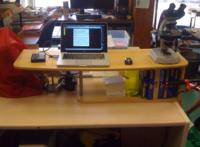 Standing desk, o trabajar toda la jornada de pie