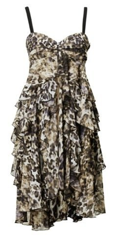 Vestidos de fiesta de HM Otoño-Invierno 2010/2011, animal print