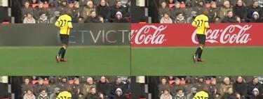 Realidad aumentada en publicidad: así funciona la tecnología que adapta lo que vemos en el deporte según donde se emita