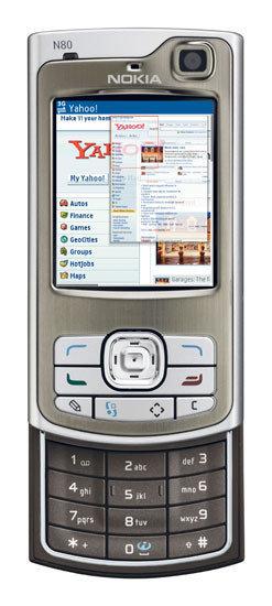 Nokia N80, mejor móvil internet del 2006 para los lectores de Xataka Móvil