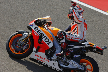 MotoGP Aragón 2014: Marc Márquez, Maverick Viñales y Álex Rins salen mañana desde la pole