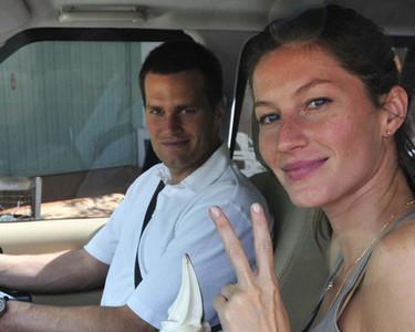 La segunda boda de Gisele Bündchen acaba a tiros