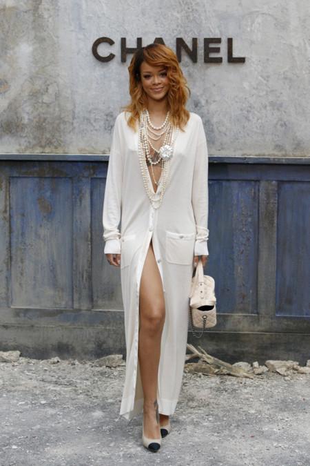 Rihanna Chanel look
