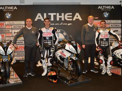 El Althea BMW Racing Team se presenta con Jordi Torres como punta de lanza