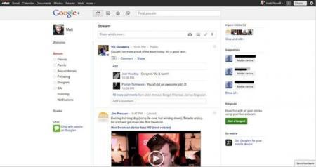 Google + empieza a expandirse: ya se pueden enviar las primeras invitaciones