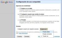 Google Docs ha mejorado sus sistema de permisos para comentar