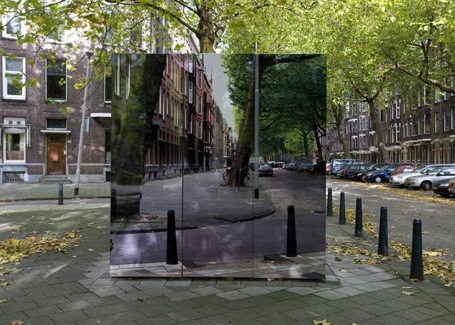 Foto de Mosaicos, pinturas y grabados utilizados para el camuflaje urbano (3/5)