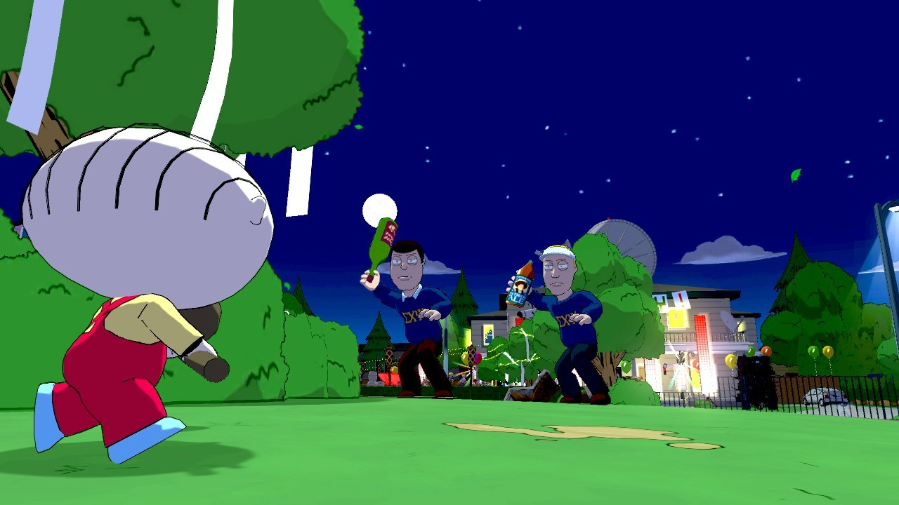 Family Guy: Back to the Multiverse - 27-07-2012