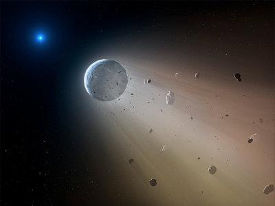 """Kronos puede ser una verdadera Estrella de la Muerte: unos astrónomos creen que se """"comió"""" a sus planetas"""