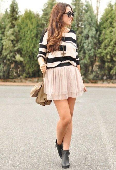 Faldas para usar a diario ¡me apunto estos looks!