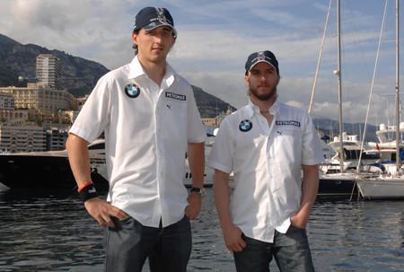 BMW Sauber confirma a Kubica y Heidfeld para 2009