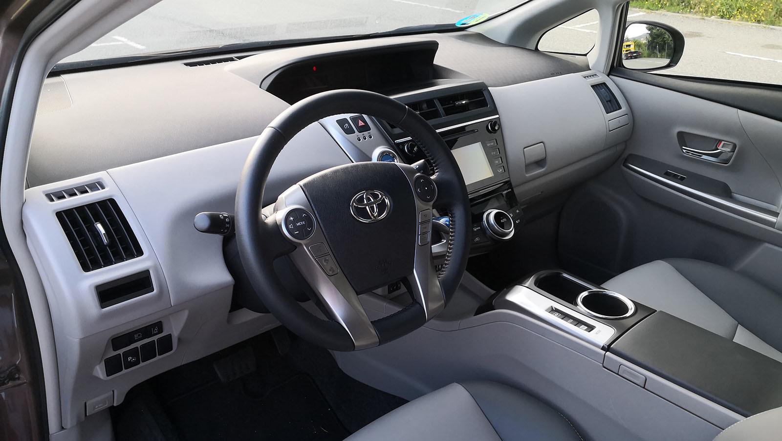 Foto de Toyota Prius+ Advance - Fotos interiores (1/17)