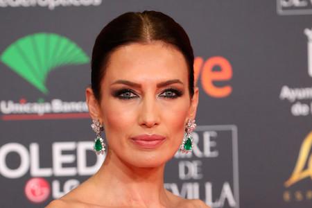 Nieves Álvarez protagoniza el mejor look de los Goya 2020 con este espectacular vestido de plumas