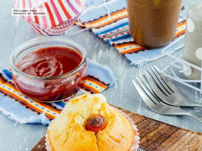 Muffins de salchichas. Receta para el Día del niño