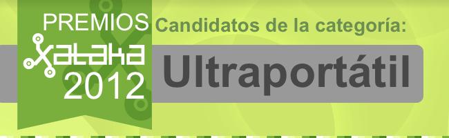 Mejor ultraportátil candidatos 2012