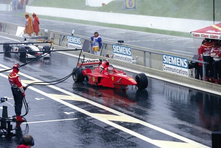 Schumacher Belgica F1 1998