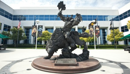 Blizzard Statue 2