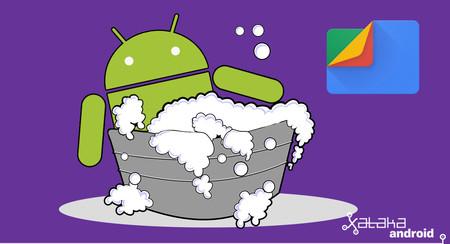Cómo liberar espacio con Files de Google