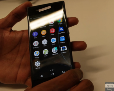 El Xperia G3121, posible renovación del Xperia XA, se filtra en vídeo antes del MWC