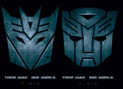 Nuevos posters de 'Transformers'