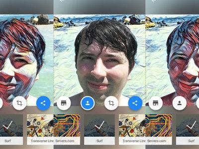 En Prisma ahora puedes aplicar los filtros artísticos a tu cara, al fondo, o a ambos