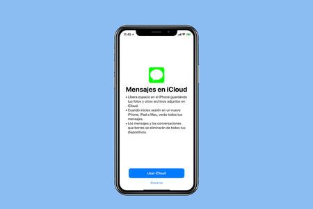 Mensajes iCloud