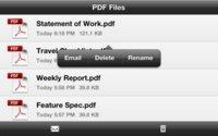 CreatePDF, la solución de Adobe para crear archivos PDF en iOS
