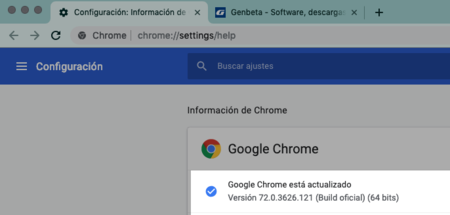 Version Chrome