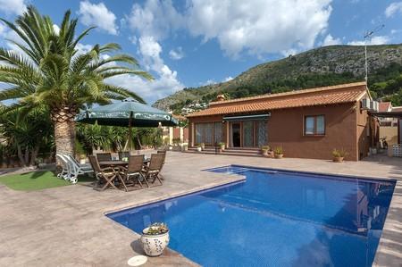 Airbnb Villa Con Piscina Privada En Alcalali Comunidad Valenciana 4