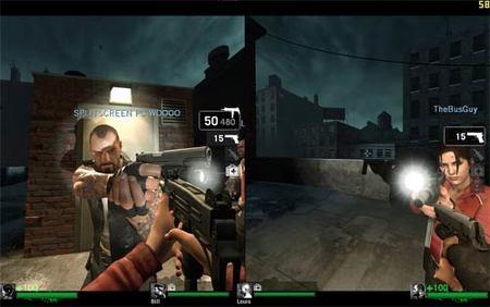 Truco 'Left 4 Dead': pantalla partida en PC