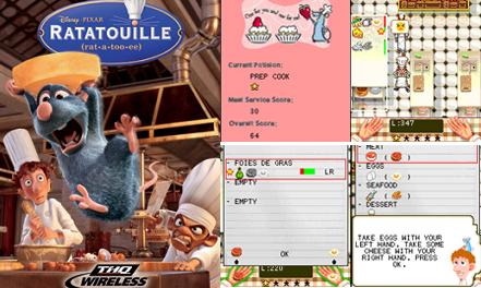 El juego de Ratatouille en nuestro móvil