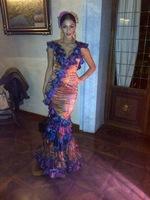 Nicole Scherzinger se nos pone flamenca en la Feria de Sevilla: ¡cántate unas sevillanas, mujer!