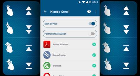 Haz scroll a la velocidad de la luz con Kinetic Scroll