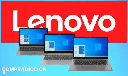 7 portátiles Lenovo con procesadores Intel y AMD que puedes comprar más baratos en Amazon con descuentos de hasta 120 euros