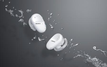 Sony WF-SP800N: hasta 26 horas de autonomía y cancelación de ruido para los nuevos audífonos inalámbricos que veremos en México