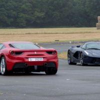 Jeremy Clarkson eligió para su última vuelta el Ferrari 488 GTB