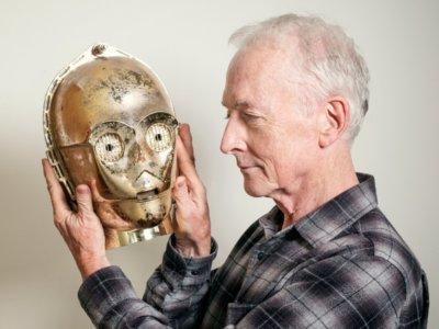 'Star Wars': Anthony Daniels habla del Episodio VII, las precuelas y su papel como C-3PO
